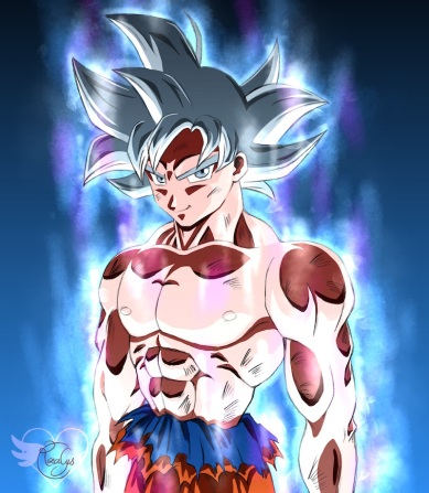 Son Gokū ultra instinct [Dragonball super]